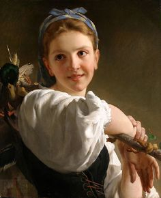 Émile Munier (2 June 1840 – 29 June 1895) was a French academic artist and student of William-Adolphe Bouguereau. Émile Munier was born in Paris and lived with his family at 66 rue des Fossés, St. Marcel. His father, Pierre François Munier, was an artist upholsterer at the Manufacture Nationale des Gobelins and his mother, Marie Louise Carpentier, was a polisher in a cashmere cloth mill.