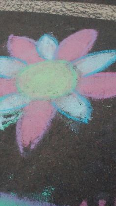 Flower art at corinado springs dig site