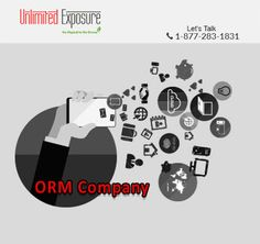 Need an #ORMCompany to clear your name? Look no further. Let our #ORMExperts save the day.