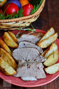 Friptura de miel la cuptor, cu vin si usturoi Pot Roast, Paste, Ethnic Recipes, Food, Honey, Garlic, Carne Asada, Hoods, Meals