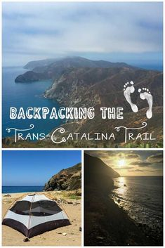 If you are looking for a winter camping escape, Catalina Islands Trans-Catalina Trail is 40 miles of sun, beach, and gorgeous ocean views.