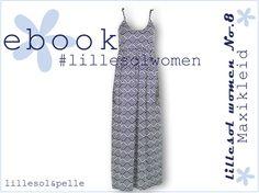 Ebook / Schnittmuster lillesol women No.8 Maxikleid