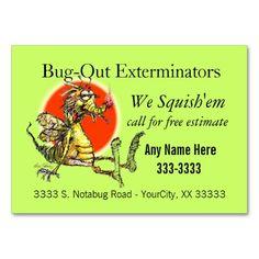 Bug-Fix Business Cards