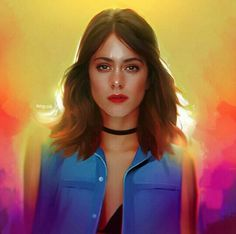 Martina Stoessel (TINI)❤ Got Me Started Tour, Violetta Disney, Blind Love, Amazing Drawings, Kawaii Art, Disney Channel, Drawing People, Cute Art, Her Style