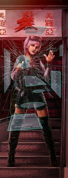 eduardkorhonen:  ... - Cyberpunk Images