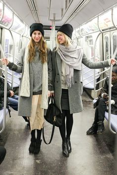 60+ photos of real New Yorker street style — on the subway and looking DAMN good