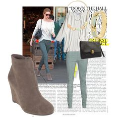 At Once suede bootie by Chinese Laundry featuring Rosie Huntington-Whiteley  #chineselaundry #shoes #mint #Rosie #HuntingtonWhiteley #RosieWhiteley #Whiteley    #alexandermcqueen #mcqueen #skulls  http://www.chineselaundry.com/at-once