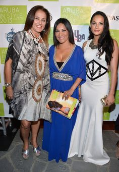 Layana Aguilar - Arrivals at the Aruba in Style Kick-Off