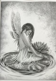 AmazonSmile: Fairy Art - Grayscale Coloring Edition (Grayscale Coloring Books by Selina) (Volume 1) (9780994355492): Selina Fenech: Books