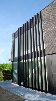 ARCERO ARCHITECTEN  architectuur en interieur I architect Jan Cloetens / metselwerk / bricks / zonwering / sun shades / brise-soleil / RTEK