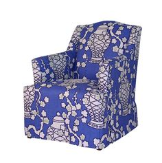 C.R. Laine - Micah Chair in Cachepot Hyacinth.   Showroom: 310 N. Hamilton St. S-201  #hpmkt
