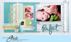 So Perfect Layout created using Carta Bella paper and embellishments.