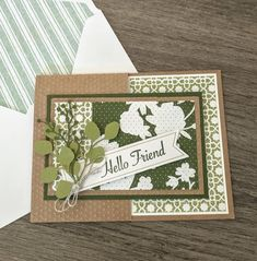 Stampin' Up! Nature Paper, Cards For Friends, Friend Cards, Stampin Up Paper Pumpkin, Pumpkin Cards, Sympathy Cards, Stamping Up, Craft Kits, Cardmaking