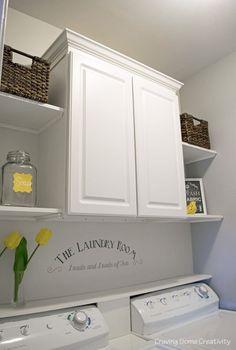 Modern Farmhouse Laundry Room Ideas (53)