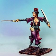 CMON is raising funds for Rum & Bones on Kickstarter! Two pirate crews engage in fierce battle for Davy Jones' treasure in this miniatures board game for 2 to 6 players. 28mm Miniatures, Fantasy Miniatures, Davy Jones, Rum, Dungeons And Dragons Miniatures, Modelos 3d, Female Fighter, Warhammer 40k Miniatures, Warhammer Fantasy