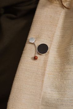 Triptych Brooch | curated by ajaedmond.com | capsule wardrobe | minimal chic | minimalist style | minimalist fashion | minimalist wardrobe | back to basics fashion