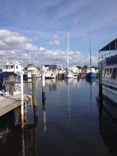 Great shot of the boats in the Marina! Fishermen's Village, Punta Gorda, Florida