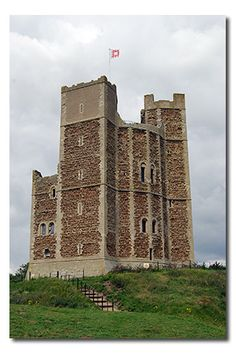 Orford Castle, Suffolk England, built in 1165 by Henry II