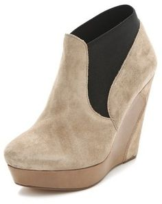 9567b6d40d97c ShopStyle  Rosegold Agnes Pull On Booties Rose Gold