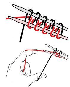 Crochet Patterns Techniques A set of hinges magic spokes – with which … Knitting Basics, Knitting Stiches, Circular Knitting Needles, Basic Crochet Stitches, Knitting For Beginners, Knitting Socks, Baby Knitting, Irish Crochet, Crochet Yarn
