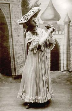 Edwardian Photos | Edwardian Actress: Miss Doris Stocker - Roger Vaughan Picture Library ...