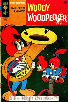 from $3.0 - Woody Woodpecker (1962 Series)  (gold Key) #102 Very Good #Comics Book