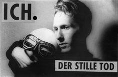 Me, age 20, photo by F. Fitzke — hier: Wien.