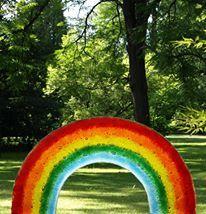 Glasornament Regenbogen