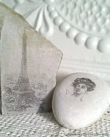 villabarnes: Playing With Rocks || transfers to stone/marble