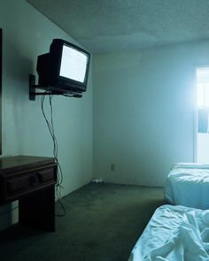 By Todd Hido. His room, minus the extra bed. Story Inspiration, Writing Inspiration, Todd Hido, Im Losing My Mind, Look Dark, Will Byers, The Villain, My Dream, Seychelles