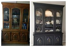 China Cabinet - Before & After
