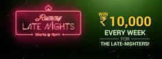 Join The Rummy Night Offer