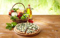 Nestlé Wagner Pizza Die Backfrische Spinat
