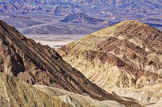 Looking Across The Valley - photograph by Stuart Litoff 1-stuart-litoff.artistwebsites.com #gowergulch #deathvalley #stuartlitoff