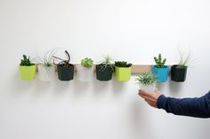 Great idea to use with MagScapes magnetic wallpaper and Custom magnets.  HYVE: A Modular Organization System that Can Grow