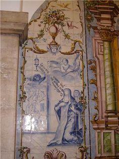 Azulejos falantes, Hospital de Santa Marta, Lisboa