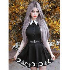 Angel After Dark – The Best In Gothic Fashion Gothic Girls, Hot Goth Girls, Goth Beauty, Dark Beauty, Dark Fashion, Gothic Fashion, Mode Lolita, Mode Rock, Goth Model