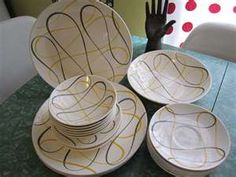 Magnificent Vintage Collection of Homer Laughlin Dinnerware /1950's/      www.etsy.com