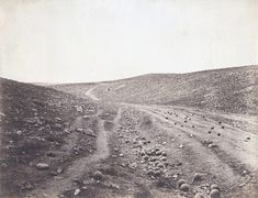 Valley of the Shadow of Death, by Roger Fenton