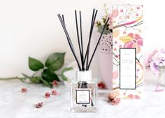 Une Nuit à Pondichéry avec le bouquet parfumé Baïja - parfum d'ambiance diffuseur de parfum