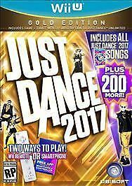 Just Dance 2017 Gold Edition Nintendo Wii U Brand New Sealed  60 Wii Dance b5995c0a3a77