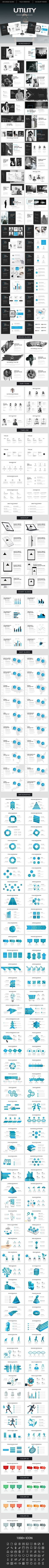 Utility Powerpoint Template - Creative PowerPoint Templates