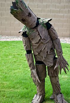 Groot from Guardians of the Galaxy / The 15 Halloween costumes for kids that are totally crushing it.