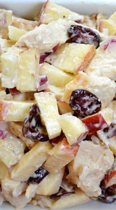 Chicken 'n Apple Salad Recipe