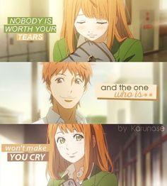 #karunase #animequotes #animeedit #orangeanime #orangetakanoichigo