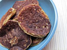 High Protein and Fiber Pancakes