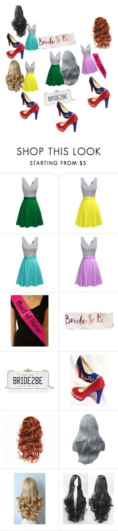 """""""hen party"""" by alicewholocked ❤ liked on Polyvore featuring Boohoo and Kate Spade"""
