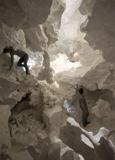 """Christian Kerez creates cavernous cloud to offer """"a pure encounter with architecture"""""""