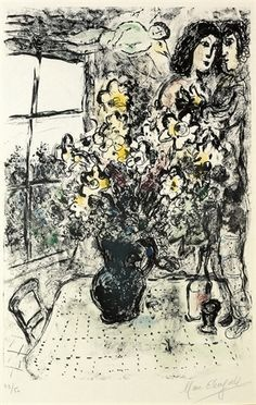 INTIMITÉ (M. 571) By Marc Chagall