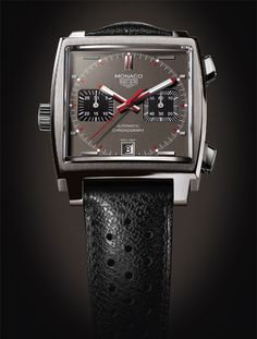 TAG HEUER : MONACO VINTAGE CALIBRE 11 CHRONOGRAPH Stylish Watches, Luxury Watches For Men, Cool Watches, Dream Watches, Men's Watches, Breitling, Mens Style Guide, Beautiful Watches, Vintage Watches